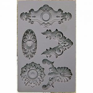 IOD Silicone Mould 815288 Escucheons #2