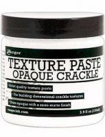 Ranger Texture Paste-Opaque Crackle 4oz