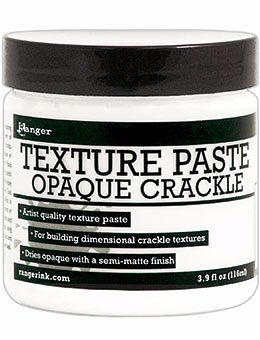 Ranger Texture Paste-Opaque Crackle 4oz