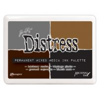 Mixed Media Palette-Distress