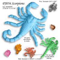 PJ056 Scorpion Mold