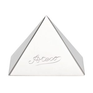 "Stainless Steel Pyramid Mold 2.25"" base"