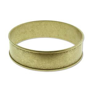 "Brass Cuff with 3/4"" Channel"