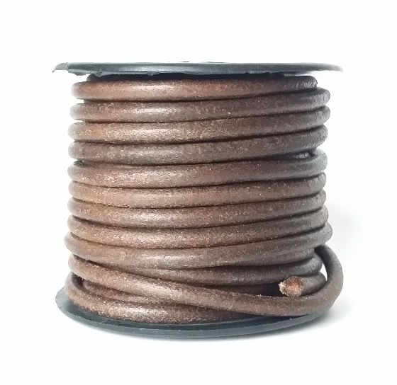 Antique Brown Leather 4mm