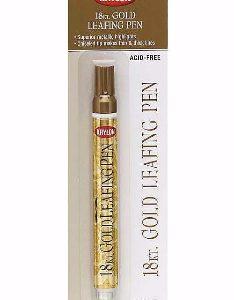 Krylon Leafing Pen 18KT Gold