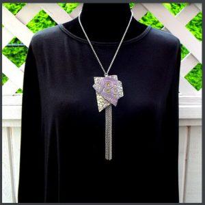Interchangeable Snap Pendant Necklace Carolyn Good