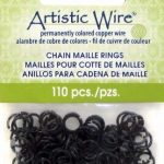 Artistic Wire Black Jump Rings