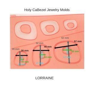 Holy CaBezel Jewelry Molds LORRAINE