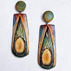 Holy Earrings CaBezel Jewelry Mold