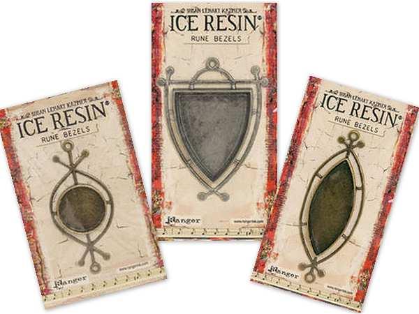 New Rune Bezels by Susan Lenart Kazmer