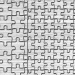 Puzzle Pieces Texture Mat