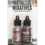 Gunmetal and Rose Gold Mixatives Set