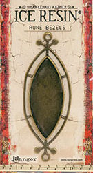 Rune Bezel-Ellipse Ant Bronze