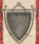 Rune Bezel-Shield Ant Silver