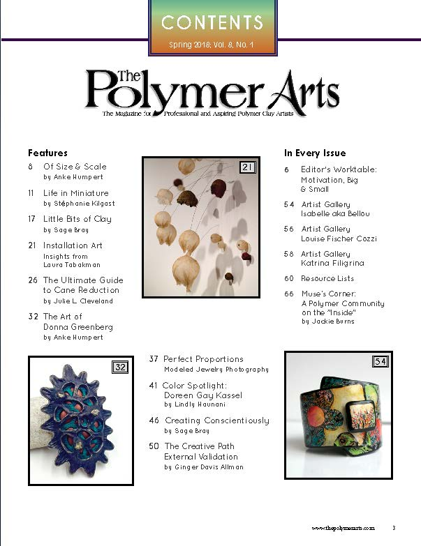 The Polymer Arts Magazine Spring 2018 - Big n Small