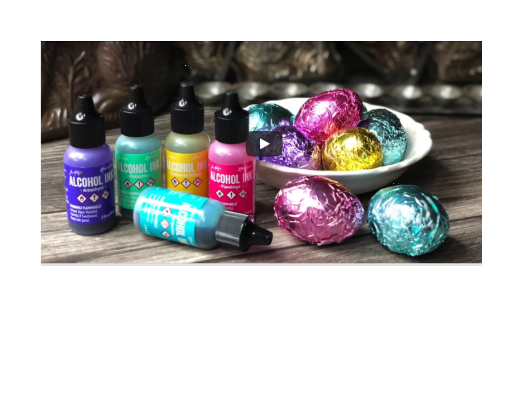 Easter Eggs by Tim Holtz