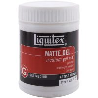 Liquitex 8oz Gel Medium-matte