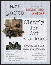 Clearly for Art Blackout Film