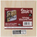 Wood Panel 6X6X1