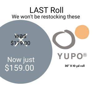 Yupo Roll Clearance