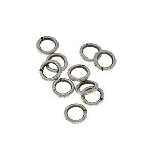 Jump rings Ant silver 200 per bag
