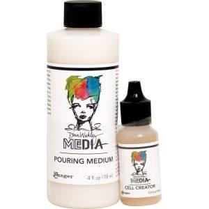 DWM Pouring Medium 4oz and Cell Creator .5oz
