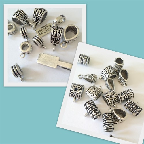 New Pewter Bails from Bead Fest
