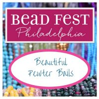 NEW from Bead Fest 2018- Pewter Bails