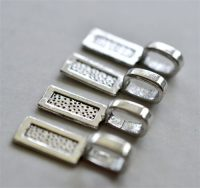 Pewter Bail-Large Paddle Pack of 10