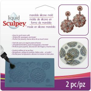 Sculpey Silicone Bakeable Mold – Mandala
