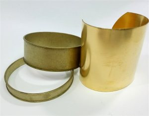 Brass forms-blanks