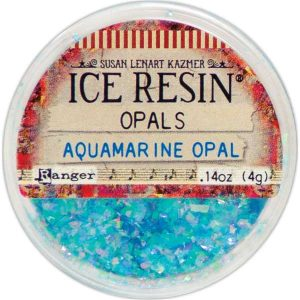 Aquamarine Ice Resin Opal