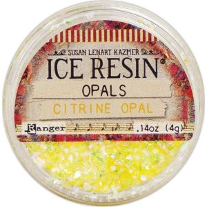 Citrine Ice Resin Opals