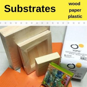 Substrates-Wood, Paper, Plastic