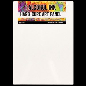 Hard Core Art Panel For Alcohol Ink 5X7