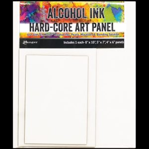 Hard Core Art Panel For Alcohol Ink Rectangle assortment