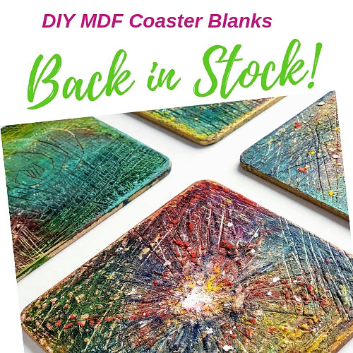MDF Coaster Blanks