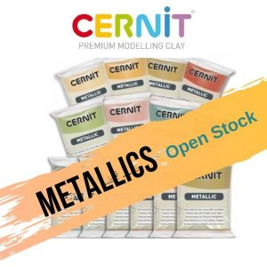 Cernit Metallics Open Stock Polymer Clay