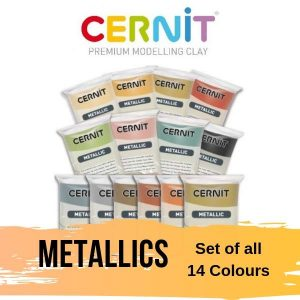 Cernit Metallics Set of all 14