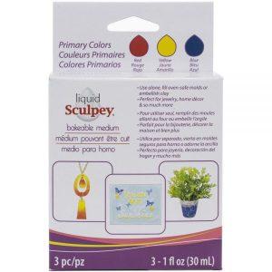 Sculpey Liquid Multi Pack-Primary
