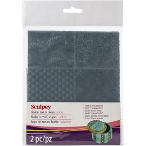Sculpey Texture Sheets NATURE