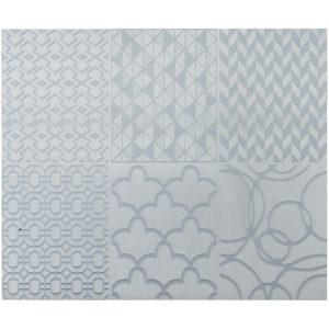 Sculpey Texture Sheet Geometric 2pc