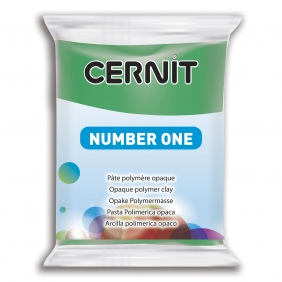 Cernit Polymer Clay Green 600