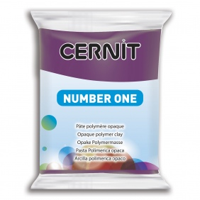 Cernit Polymer Clay Purple 962