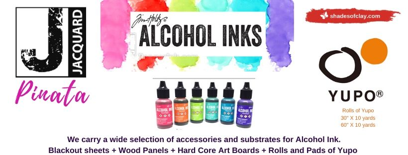 Alcohol Ink and Accessories