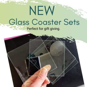 DIY Glass Coaster Sets