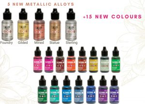 20 New Ranger Alcohol Ink Colours