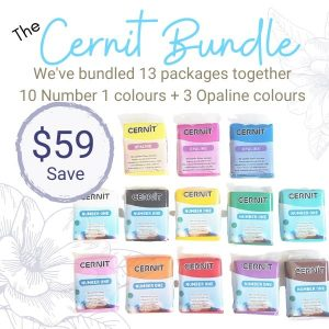 Cernit Polymer Clay Bundle