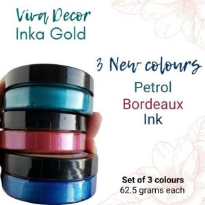 New Inka Gold Set of 3 Colours