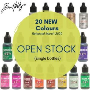 Alcohol Ink- Tim Holtz 20 New Colours - March 2020 - Open Stock